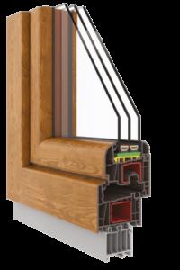 okno pcv fen 76