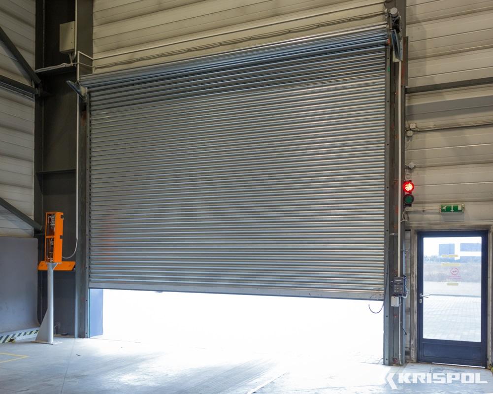 brama przemysłowa rolowana 2 fotografia
