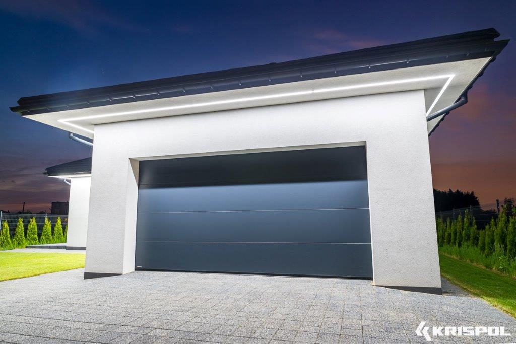 Brama garażowe Krishome Fotografia